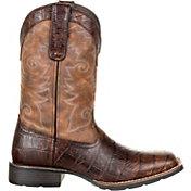 Durango Men's Mustang Gator Embossed Western Boots