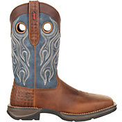 Durango Men's Rebel Pull-On Steel Toe Western Work Boots