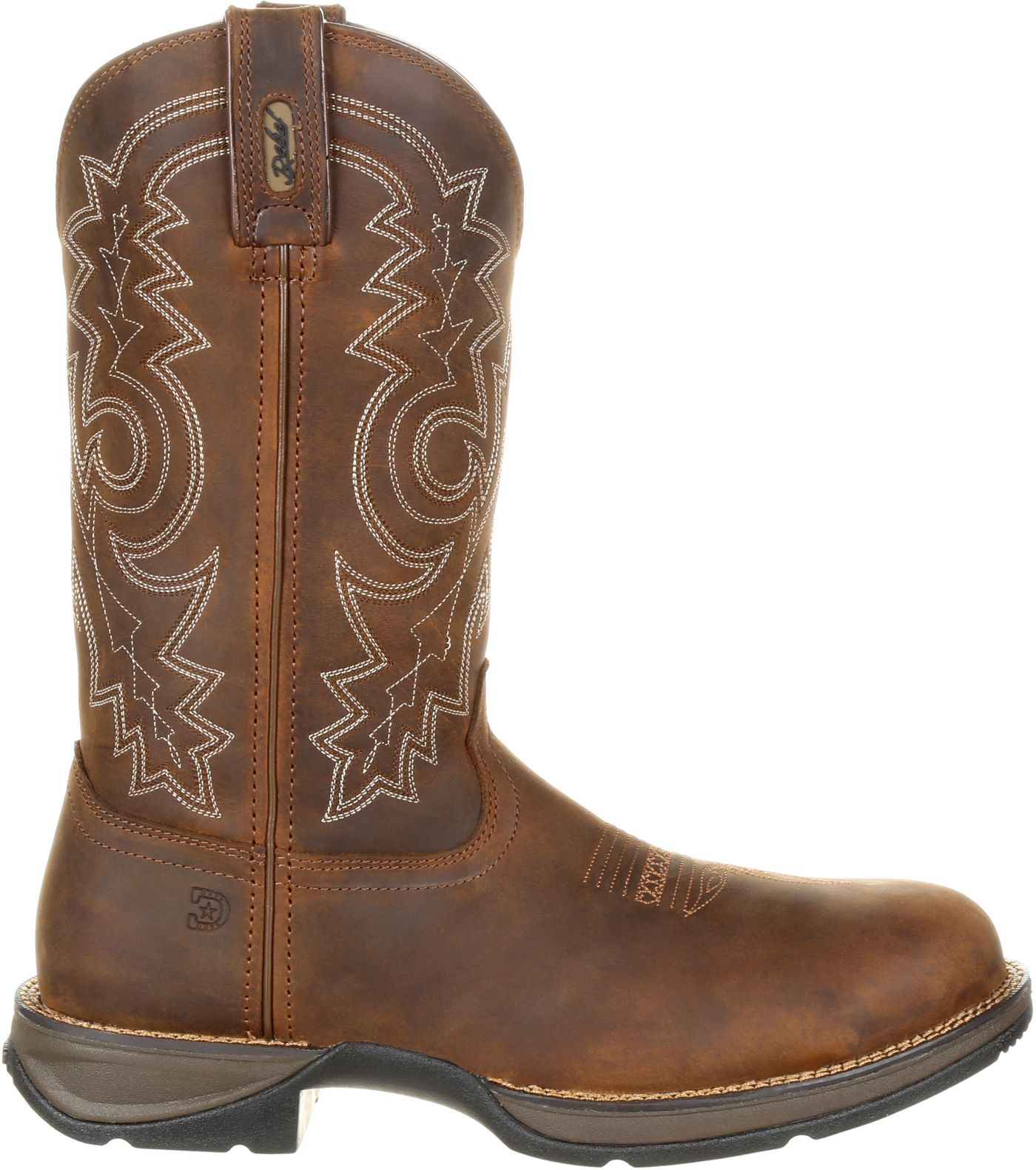Durango Men's Rebel Waterproof Steel Toe Western Work Boots