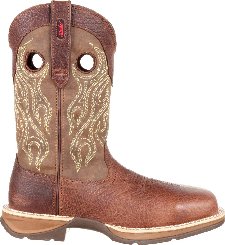 Durango Men's Rebel Waterproof Composite Toe Western Work Boots