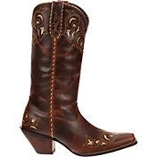 Durango Women's Crush 12'' Sew Sassy Western Boots