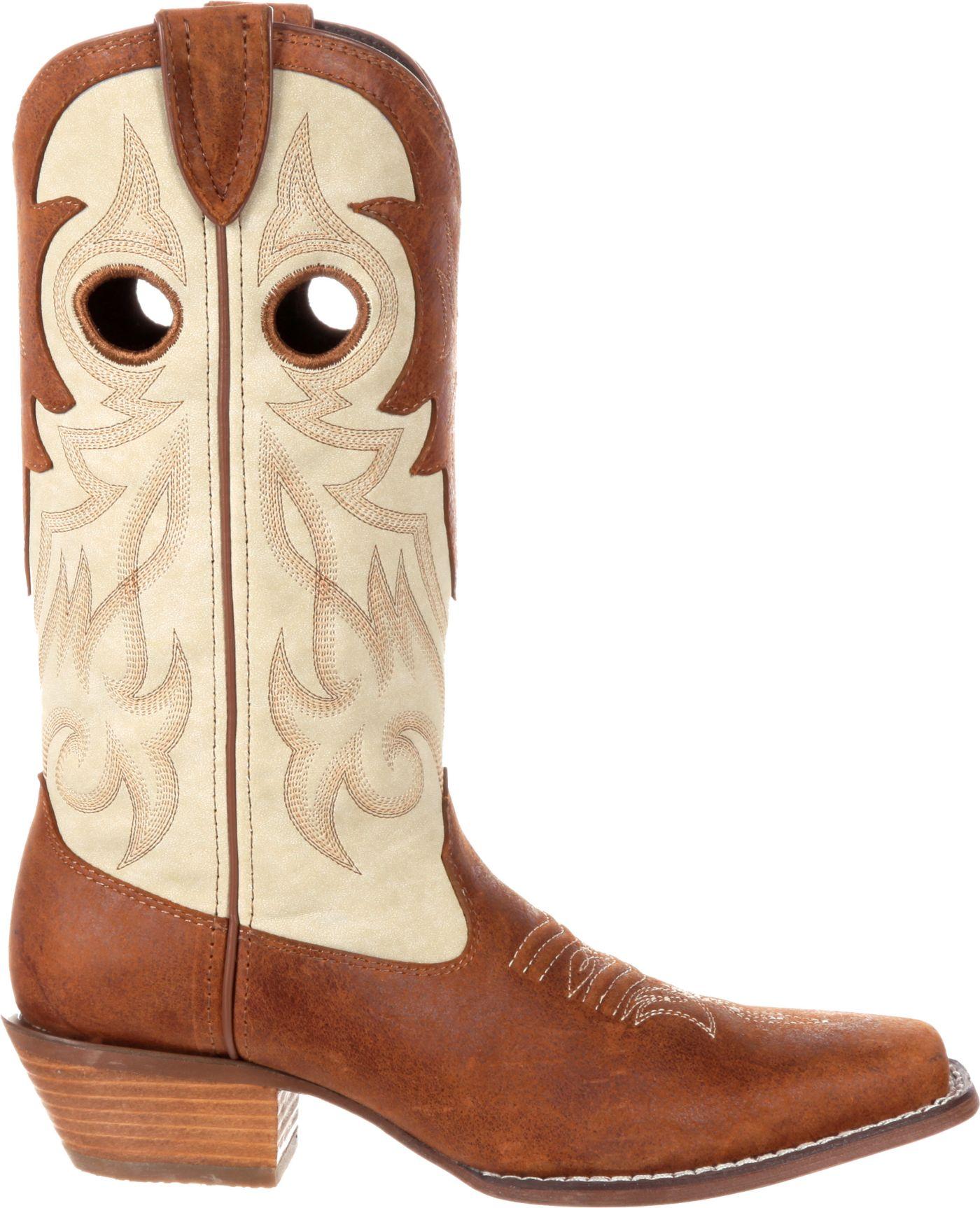 Durango Women's Crush Collar Western Boots