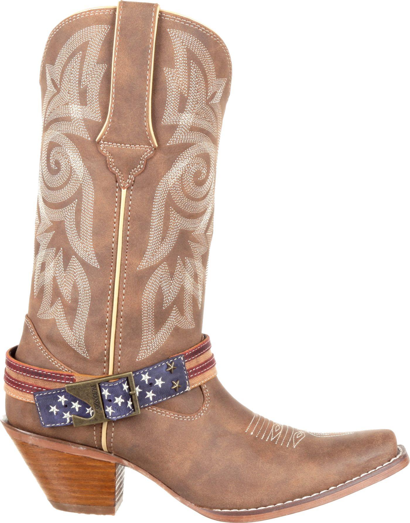 Durango Women's Crush Flag Accessory Western Boots