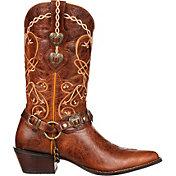 Durango Women's Crush Heartbreaker Concho Western Boots