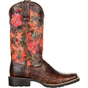 Durango Women's Mustang Exotic Rose Western Boots