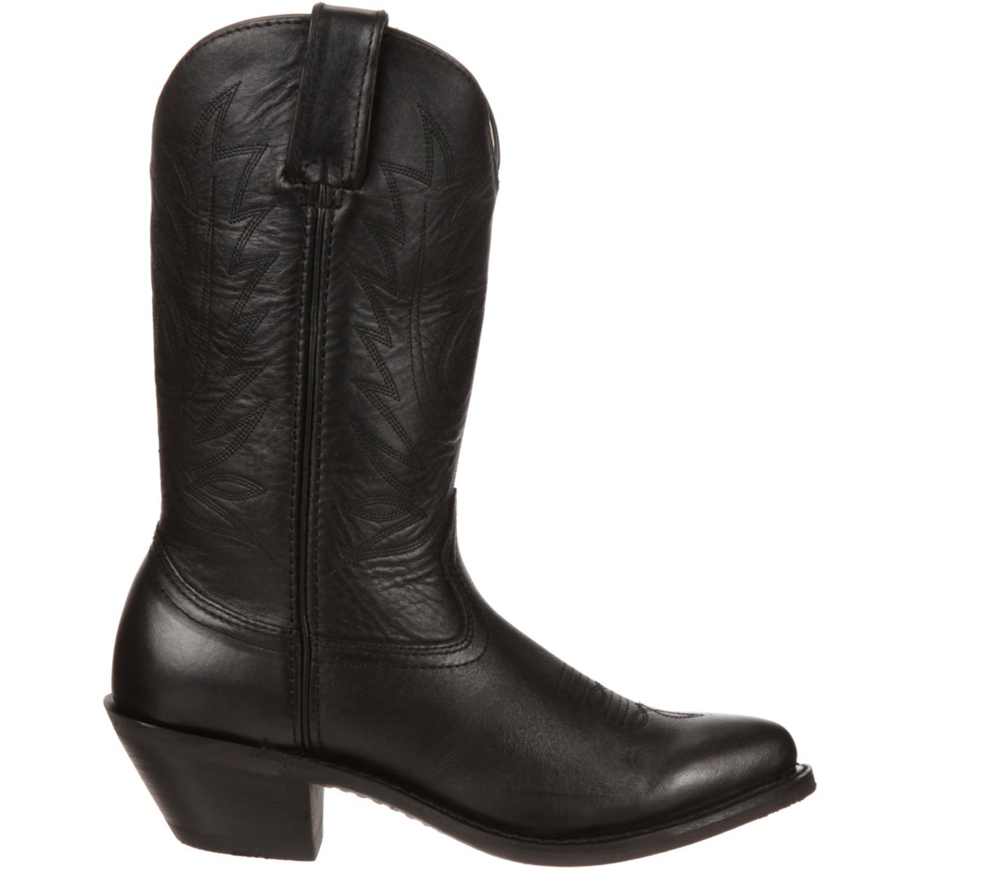 Durango Women's Black Leather Western Boots