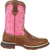 Durango Women's Lady Rebel Brown Pink Western Boots