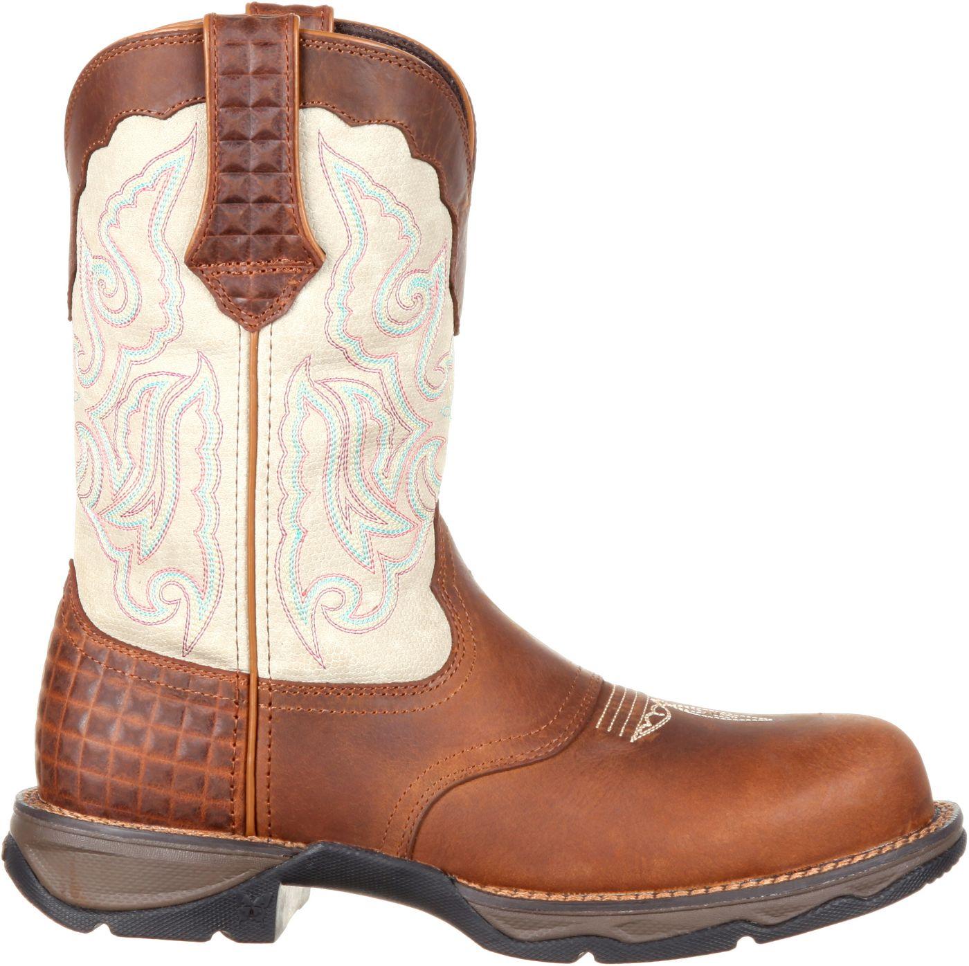 Durango Women's Lady Rebel Composite Toe Western Work Boots