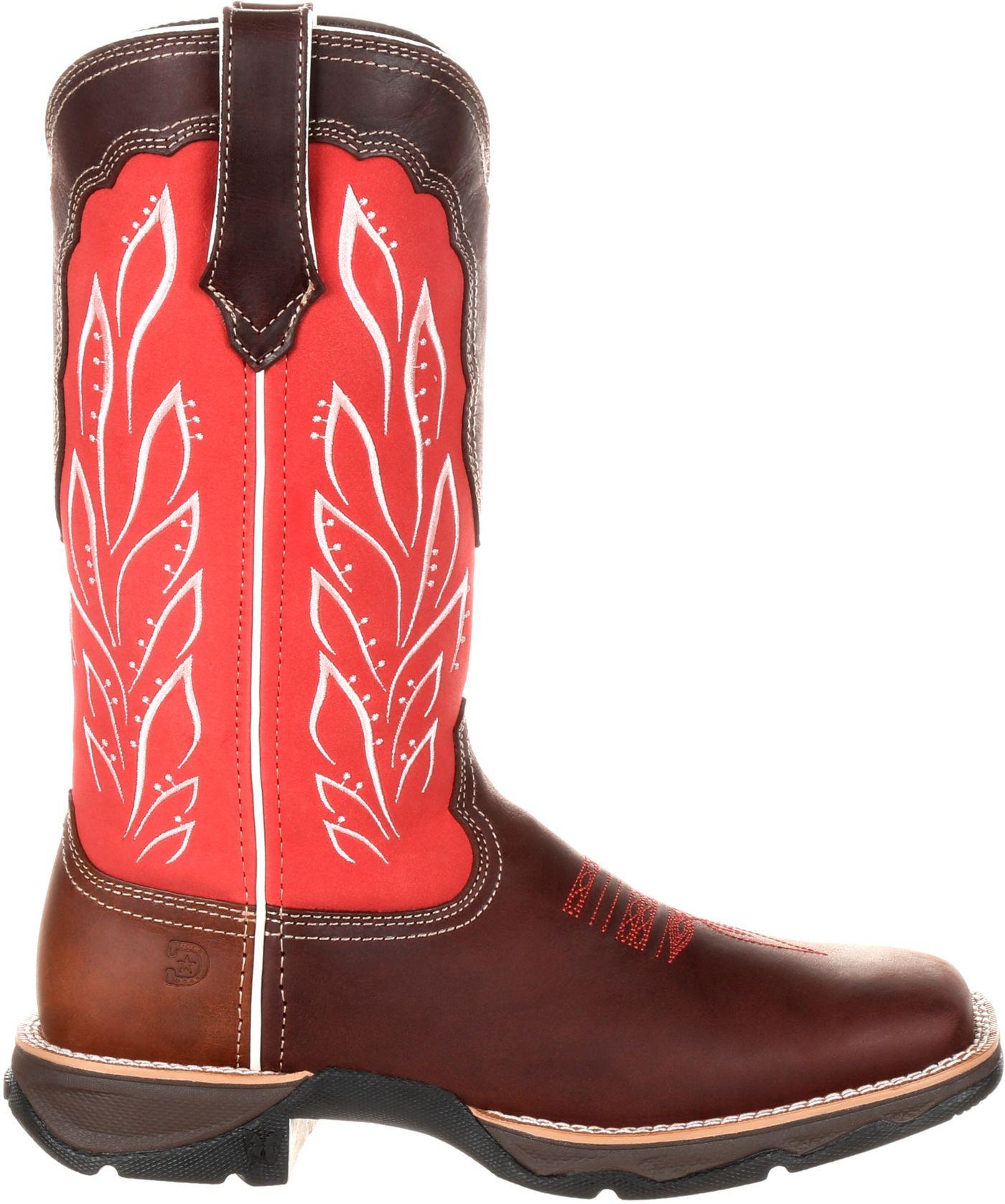 Durango Women's Lady Rebel Strawberry Sunrise Western Work Boots