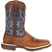 Durango Women's UltraLite Saddle Western Work Boots