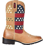 Durango Women's Mustang Pull-On Patriotic Western Boots
