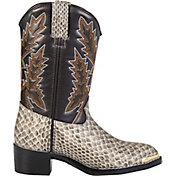 Durango Kids' Tan Snake Western Boots