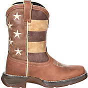 Durango Kids' Lil Rebel Faded Glory Flag Western Boots