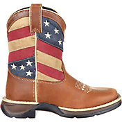 Durango Kids' Lil Rebel Patriotic Flag Western Boots