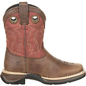 Durango Kids' Lil Rebel Waterproof Saddle Western Boots