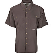 Drake Waterfowl Men's Flyweight Wingshooters Short Sleeve Shirt