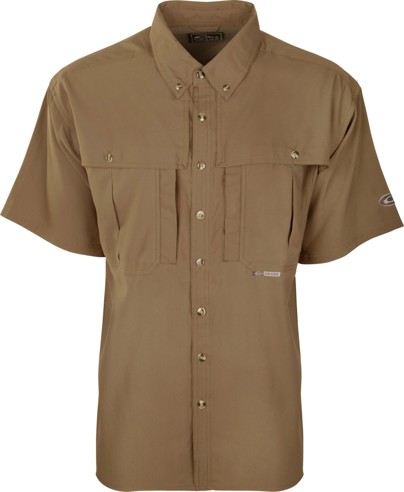 Drake Waterfowl Men's Flyweight Wingshooters Short Sleeve Shirt