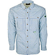 Drake Waterfowl Men's FeatherLite Plaid Wingshooter's Button Down Shirt