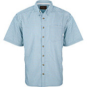 Drake Waterfowl Men's Featherlite Check Short Sleeve Button Down Shirt