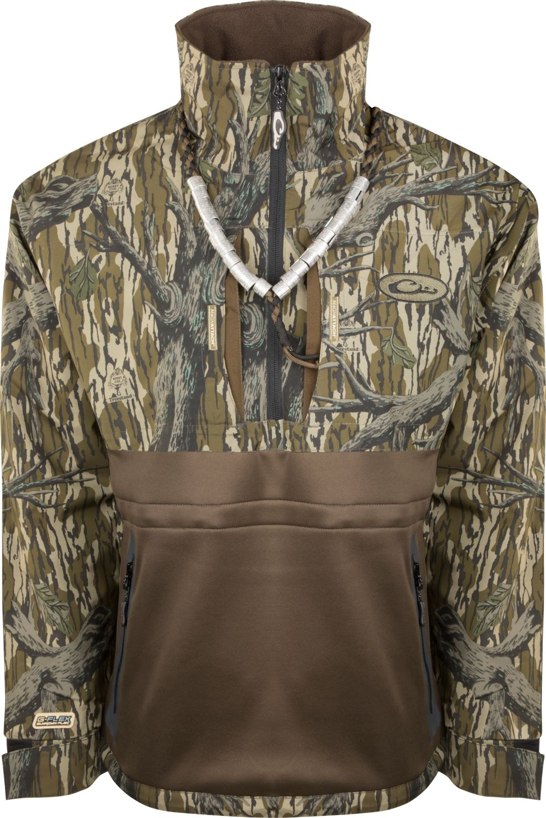 Drake Waterfowl Guardian Flex 1/4 Zip Eqwader Wading Jacket