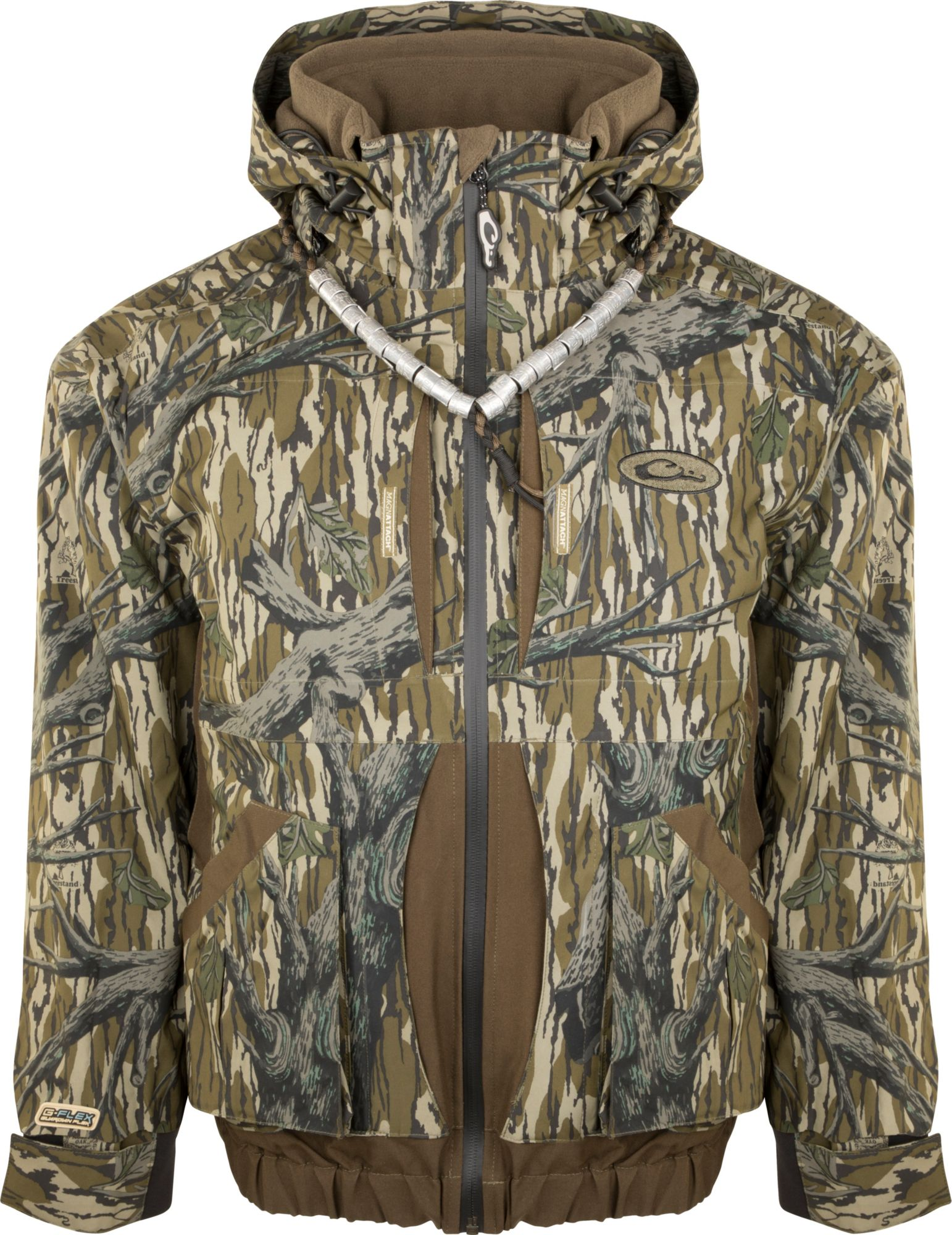 Drake Waterfowl Men's Guardian Flex 3-in-1 Systems Hunting Coat, Size: Medium, Mossy Oak Orig Treestand thumbnail