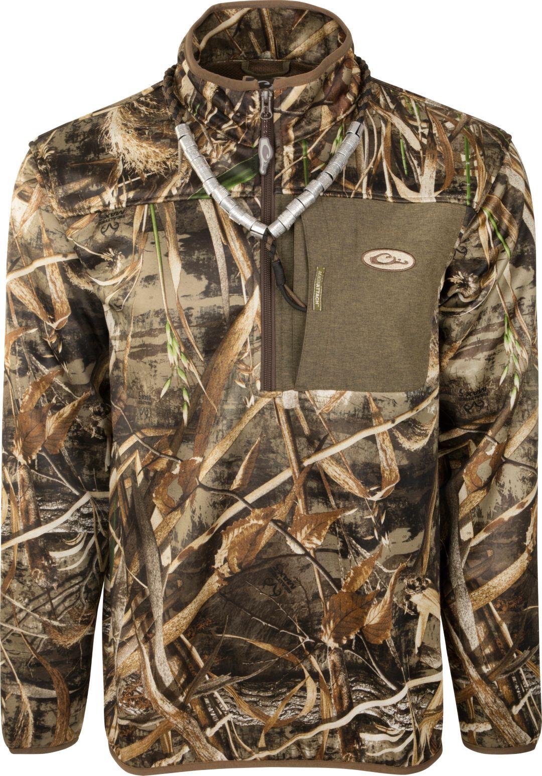 2e2b5926e0afb Drake Waterfowl Men's MST 1/4 Zip Hunting Jacket   DICK'S Sporting Goods