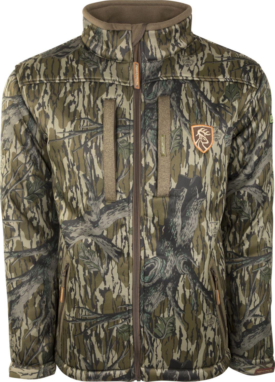 9d993adc9 Drake Waterfowl Men s Silencer Full Zip Hunting Jacket 1