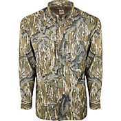Drake Waterfowl Men's Camo Flyweight Wingshooter's Hunting Shirt