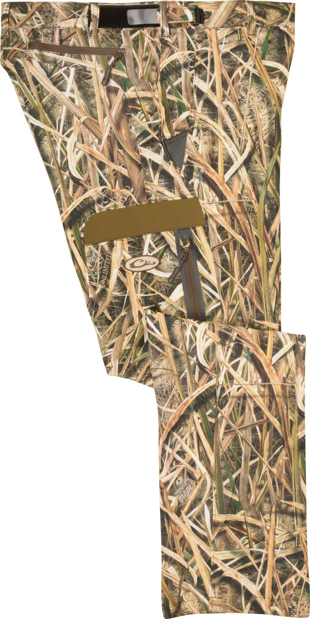 Drake Waterfowl Camo Tech Stretch Hunting Pants, Men's, XXL, Brown