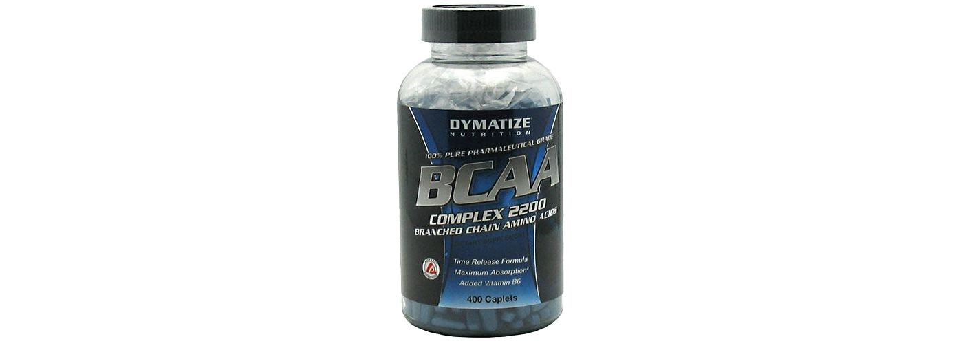 Dymatize BCAA Complex 2200 Branched Chain Amino Acid Capsules