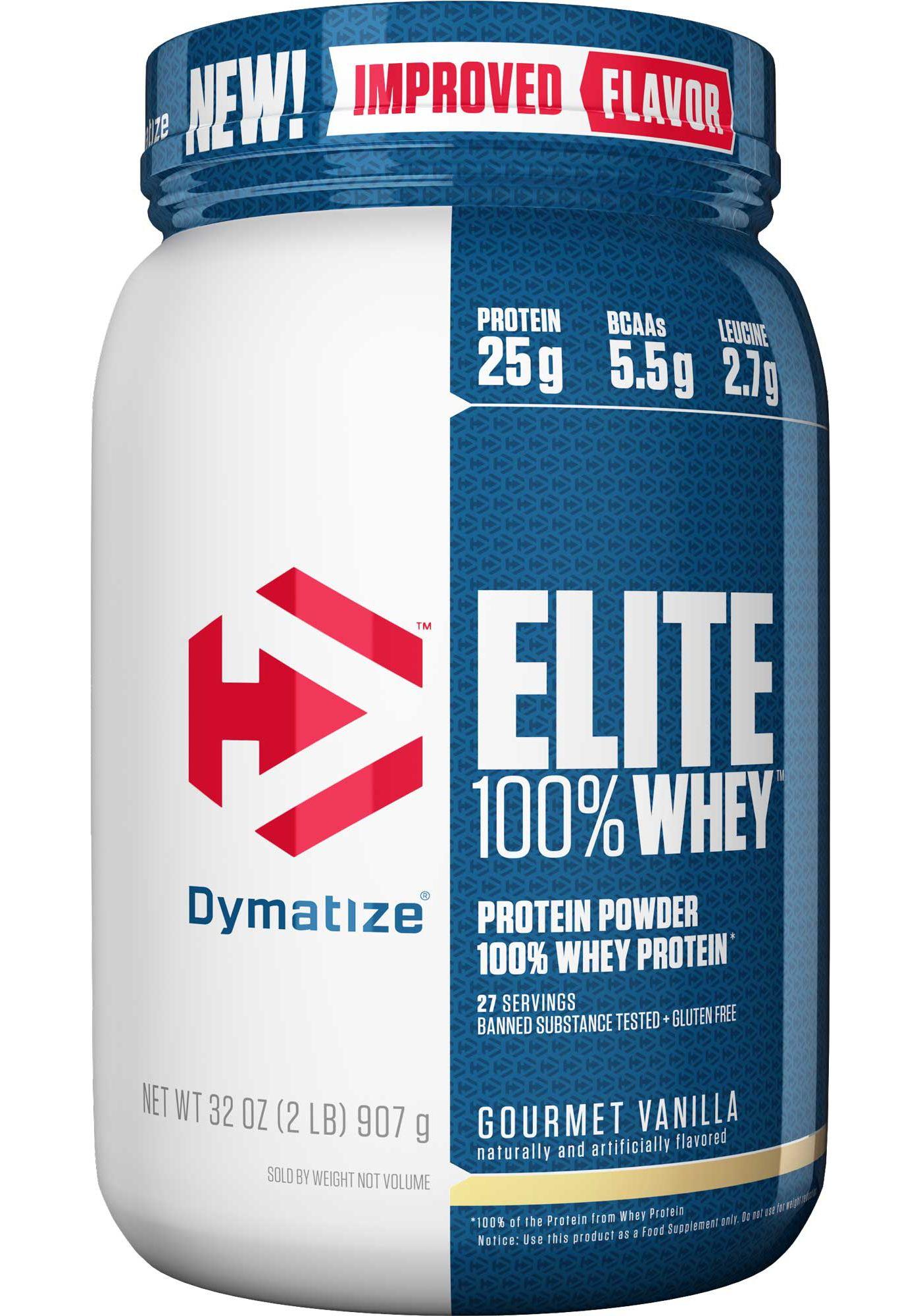 Dymatize Elite 100% Whey Protein Powder Vanilla