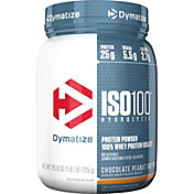Dymatize ISO-100 Hydrolyzed Whey Protein Powder Chocolate Peanut Butter 1.6 LBS