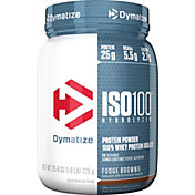 Dymatize ISO100 Hydrolyzed Protein Powder Fudge Brownie