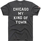HOMAGE Men's Chicago My Kind Of Town Charcoal T-Shirt