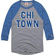 HOMAGE Men's Chi-Town Grey Raglan T-Shirt