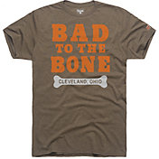 HOMAGE Men's Bad To The Bone Brown T-Shirt