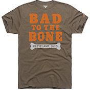 HOMAGE Men's Bad To The Bone Brown T-Shirt