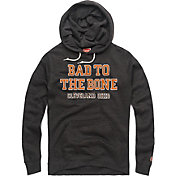 HOMAGE Men's Bad To The Bone Charcoal Pullover Hoodie