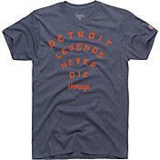 HOMAGE Men's Detroit Legends Never Die T-Shirt