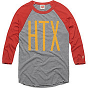 HOMAGE Men's HTX Grey Raglan T-Shirt