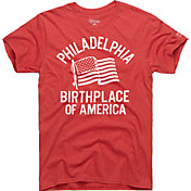 HOMAGE Men's Birthplace Of America Red T-Shirt