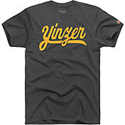 HOMAGE Men's Yinzer Charcoal T-Shirt