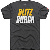HOMAGE Men's Blitzburgh Charcoal T-Shirt