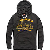 HOMAGE Men's Pittsburgh City Of Champions Charcoal Pullover Hoodie