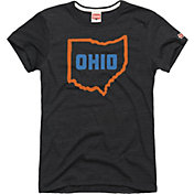 HOMAGE Women's Ohio State Charcoal T-Shirt