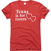HOMAGE Women's Texas Is For Lovers Red T-Shirt
