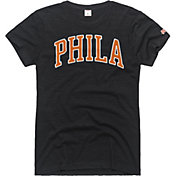 HOMAGE Women's Philadelphia Arch Charcoal T-Shirt