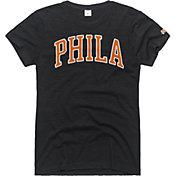HOMAGE Women's Philadelphia Arch Charcoal T-Shirt