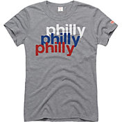 HOMAGE Women's Philly Repeat Grey T-Shirt