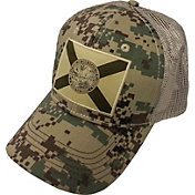 FloGrown Men's Digital Camo Patch Trucker Hat